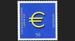PE445-5NF : 2002 - TP Allemagne pour l'introduction de l'Euro