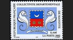 PE445-16NF : 2002 - TP Mayotte pour l'introduction de l'Euro