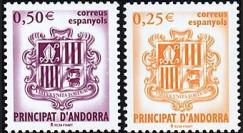 PE445-17NF : 2002 - TP Andorre (Espagne) pour l'introduction de l'Euro