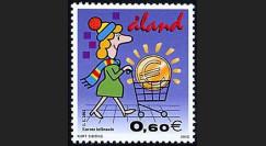 PE445-18NF : 2002 - TP Aland (Finlande) pour l'introduction de l'Euro