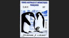 PE445-23NF : 2002 - TP TAAF pour l'introduction de l'Euro