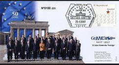 PE530 : 2007 - 50e anniversaire du Traité de Rome - Berlin