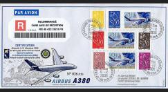 A380-40R (PE529a)  : 2006 - Vaisseau Amiral de l'Europe - Certification de l'A380