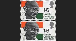 GAND-69P : 1969 - 100e anniversaire de la naissance de Gandhi