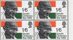 GAND-69B4 : 1969 - 100e anniversaire de la naissance de Gandhi