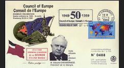 CE50-II : 27.4.1999 - Adhésion de la Géorgie au Conseil de l'Europe