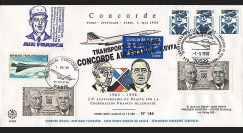 PE365 T2 : 1998 - Concorde vol Stuttgart - Paris - Traité franco-allemand