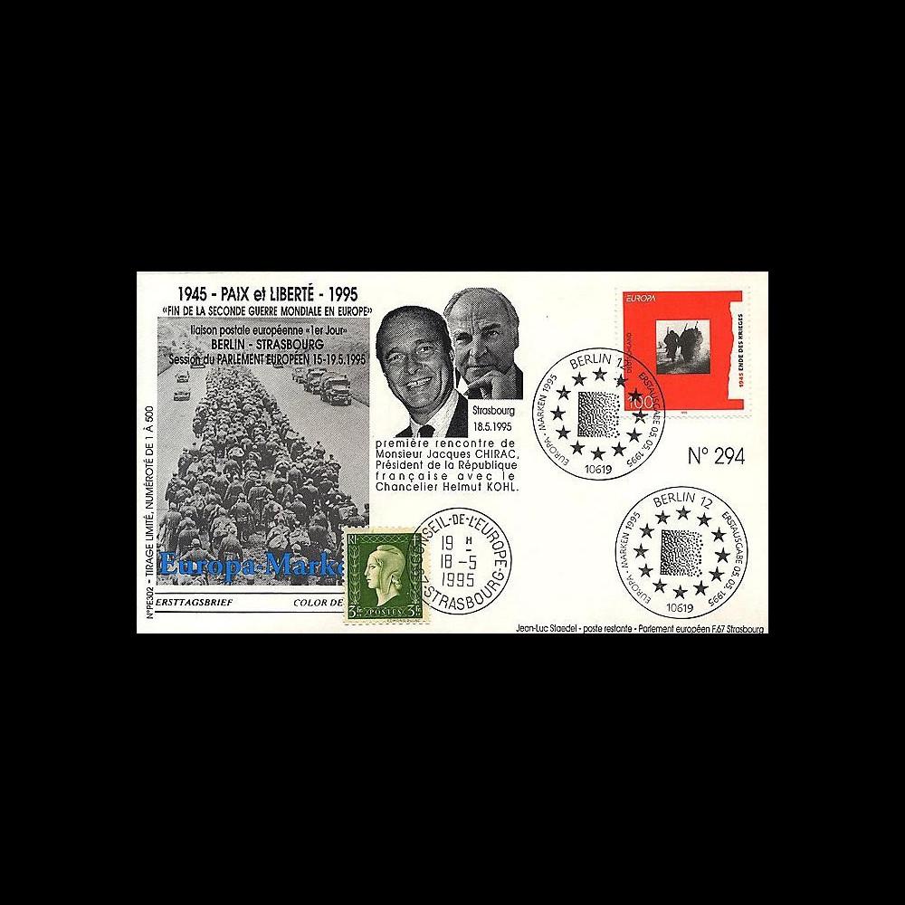 PE303 T1 : 1995 - 50e anniversaire de la Victoire du 8 mai 1945