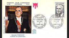 FE28 : 1975 - Président George Pompidou 1911-1974