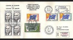 CE27a : 1975 - hommage du Conseil de l'Europe au Pdt Pompidou
