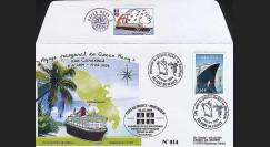 QM2-5 : 2004 - Première escale du Queen Mary 2 en Martinique