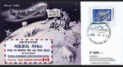 A380-38 : 2006 - A380 Tour du Monde par les deux pôles - Canada