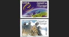 CE58-NF : 2007 - Timbres de service du Conseil de l'Europe