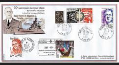 DG07qc-1 : 2007 - Voyage officiel Gal de Gaulle sur croiseur Colbert