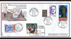 DG07qc-3 : 2007 - Voyage officiel du Gal de Gaulle à bord du croiseur Colbert