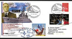 DG02qc-1 : 2002 - Voyage officiel du Gal de Gaulle à bord du croiseur Colbert