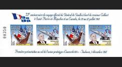 DG02qc-1BND : 2007 - Vignette de Gaulle - Vive le Québec libre!