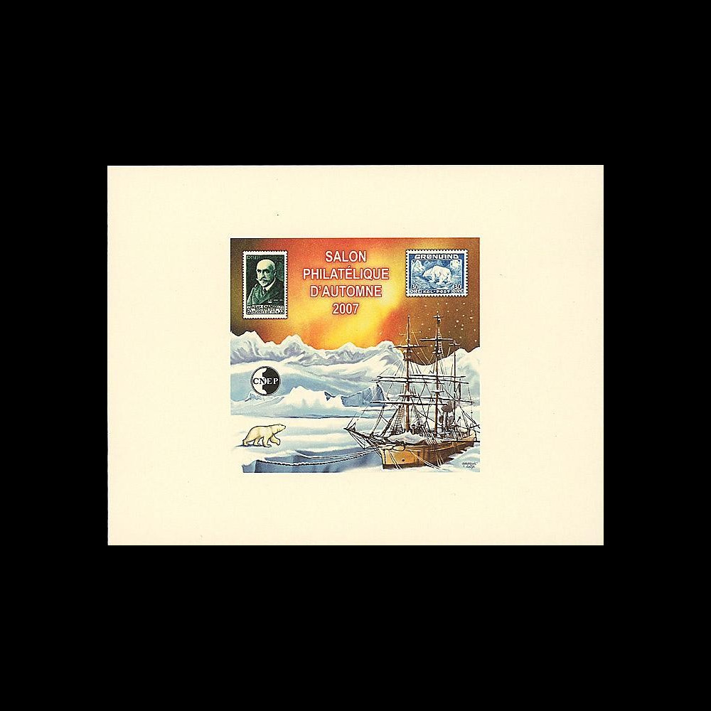 France 2007 : Epreuve CNEP 'France-Groenland' Salon phil. Automne