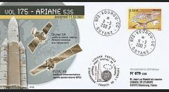 V175L-T1 - France 2007 : FDC Kourou Vol 175 Ariane 535