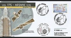 V175L-T2 - France 2007 : FDC Kourou Vol 175 Ariane 535