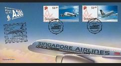 A380-51PJ - 2007 : 1er Jour 'A380 Singapore Airlines' (Singapour)