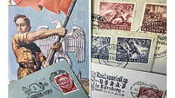 German Third Reich postal history, Nazi Germany during WW2 1939-1945